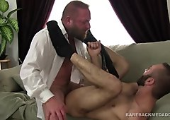 Dalton Hawg Bareback Fucks Ethan Palmer
