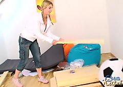 Katrin Kozy bondage
